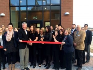 Massage Heights Ribbon Cutting
